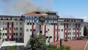 Incêndio atinge Hospital Federal de Bonsucesso no Rio de Janeiro
