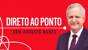 Augusto Nunes em logo do programa Direto ao Ponto