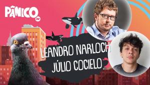 LEANDRO NARLOCH E JÚLIO COCIELO - PÂNICO - AO VIVO - 28/10/20