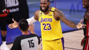 LeBron James comanda vitória do Los Angeles Lakers contra Timberwolves na NBA
