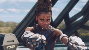 Letitia Wright diz que ainda não é hora para falar sobre 'Pantera Negra 2'