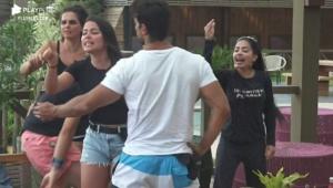 Incêndio no feno: Raissa e Mirella brigam feio após reunião convocada por Ambiel