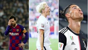 Megan Rapinoe critica Messi e CR7: 'Poderiam fazer mais no combate ao racismo'