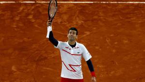 Novak Djokovic em Roland Garros