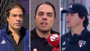 Spimpolo revela 'limpa' no São Paulo até 2021: 'Raí, Diniz, Pássaro, não vai sobrar ninguém'