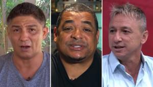 Quem foi melhor: Jardel ou Paulo Nunes? Veja o que Vampeta respondeu