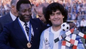 Pelé escreve texto parabenizando Maradona pelos 60 anos; leia