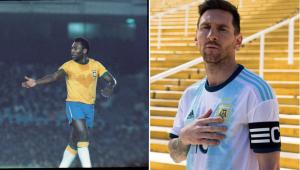 Messi é melhor do que Pelé? Veja o que o Rei do Futebol respondeu