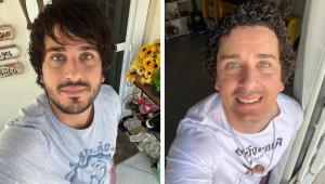 Rafael Portugal surpreende os fãs com novo visual 'galã'