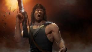 Rambo entra para Mortal Kombat 11 Ultimate com voz de Sylvester Stallone