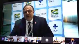 Governo de SP divulga vídeo completo da reunião de Pazuello com governadores