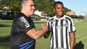 Presidente do Santos: Contrato de Robinho será rescindido se houver nova condenação