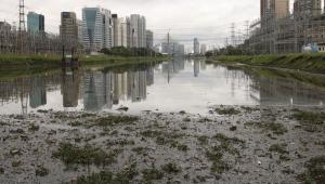 Máquina que suga pernilongos está em fase de testes no rio Pinheiros