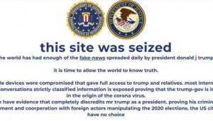 Site da campanha de Trump é invadido por hackers