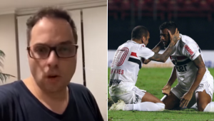 Spimpolo critica SPFC e detona Dani Alves: 'É o dono do time?'; assista