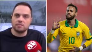 Spimpolo exalta Neymar após vitória do Brasil: 'Está muito próximo de CR7 e Messi'