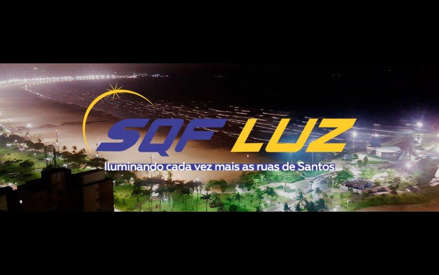 SQF LUZ - Iluminando cada vez mais as ruas de Santos