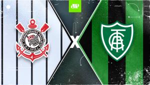 Corinthians x América-MG: assista à transmissão da Jovem Pan ao vivo