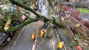 Tufão Filipinas