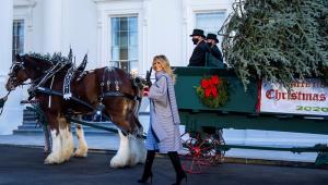 Contrariando recomendações, Casa Branca organiza festa de fim de ano