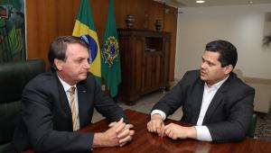 Presidente e parlamentar em encontro privado