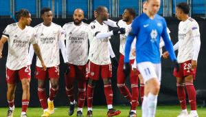 Com vitória fora de casa, Arsenal antecipa classificação à 2ª fase da Liga Europa