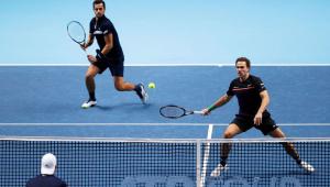 Tênis: Dupla com brasileiro encerra temporada como a melhor do mundo