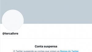 Conta de portal bolsonarista no Twitter é suspensa por 'violar regras'