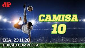 Corinthians RECLAMA da arbitragem; Palmeiras, SPFC e Santos TROPEÇAM! - Camisa 10 - 23/11/2020