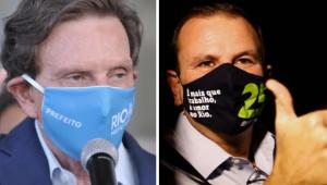 Datafolha no RJ: Paes tem 68% dos votos válidos; Crivella, 32%