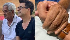 Zezé Di Camargo se pronuncia após a morte do pai e pede 'perdão'
