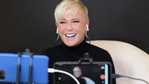 Xuxa comenta que quer 'Lidi fora' de 'A Fazenda 12' em live de Marcos Mion
