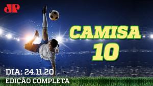 É HOJE! Flamengo e Santos ABREM mata-mata da Libertadores! - Camisa 10  - 24/11/2020