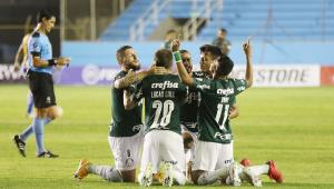 Palmeiras vence Delfín por 3 a 1 e larga na frente nas oitavas de final da Libertadores