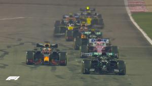 Em corrida marcada por acidente de Grosjean, Hamilton vence GP do Bahrein