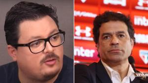 Fausto Favara critica São Paulo por desistir de anulação de jogo: 'Tem que forçar a barra'