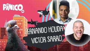 FERNANDO HOLIDAY E VICTOR SARRO - PÂNICO - AO VIVO - 18/11/20