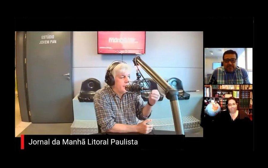 Jornal da Manhã Litoral Paulista - De segunda a sexta-feira – Das 7 às 8h da manhã 95,1