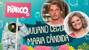 JULIANO CEGLIA E MARIA CÂNDIDA - PÂNICO - AO VIVO - 19/11/20