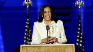 A vice-presidente dos Estados Unidos, Kama Harris