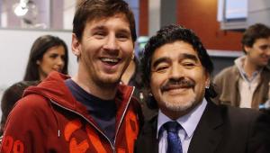 Messi e Neymar lamentam morte do ídolo Maradona: 'Diego é eterno'