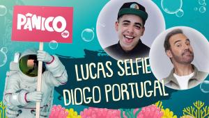 LUCAS SELFIE E DIOGO PORTUGAL - PÂNICO - AO VIVO - 24/11/20