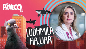 LUDHMILA HAJJAR - PÂNICO - AO VIVO - 23/11/20
