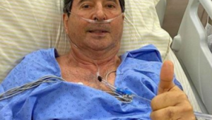 Internado em estado grave com Covid-19, Maguito Vilela é eleito prefeito de Goiânia