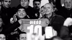 Presidente do Napoli confirma que estádio do clube terá nome de Maradona