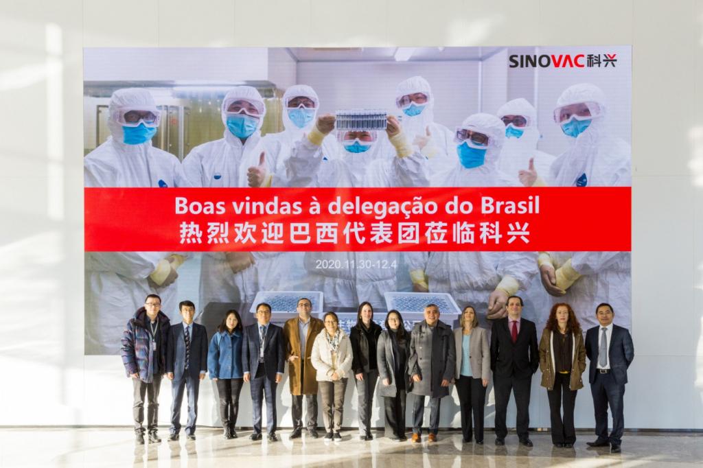 Na China, Anvisa e Instituto Butantan inspecionam fábrica da CoronaVac – Jovem Pan