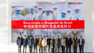Na China, Anvisa e Instituto Butantan inspecionam fábrica da CoronaVac