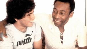 Uma semana após morte, Pelé volta a homenagear Maradona: 'Obrigado por toda a nossa jornada'