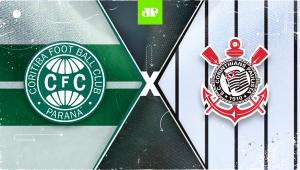 Coritiba x Corinthians: assista à transmissão da Jovem Pan ao vivo