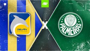 Delfín x Palmeiras: assista à transmissão da Jovem Pan ao vivo
